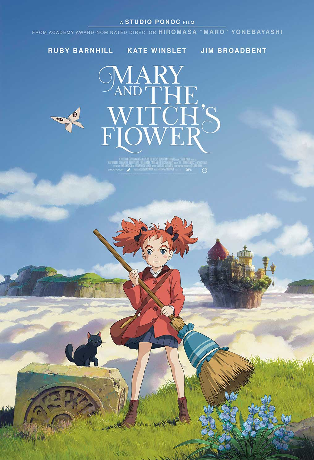 Poster for Mary and the Witch's Flower