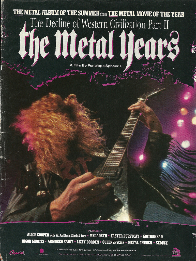 Poster for The Decline of Western Civilization Part II: The Metal Years