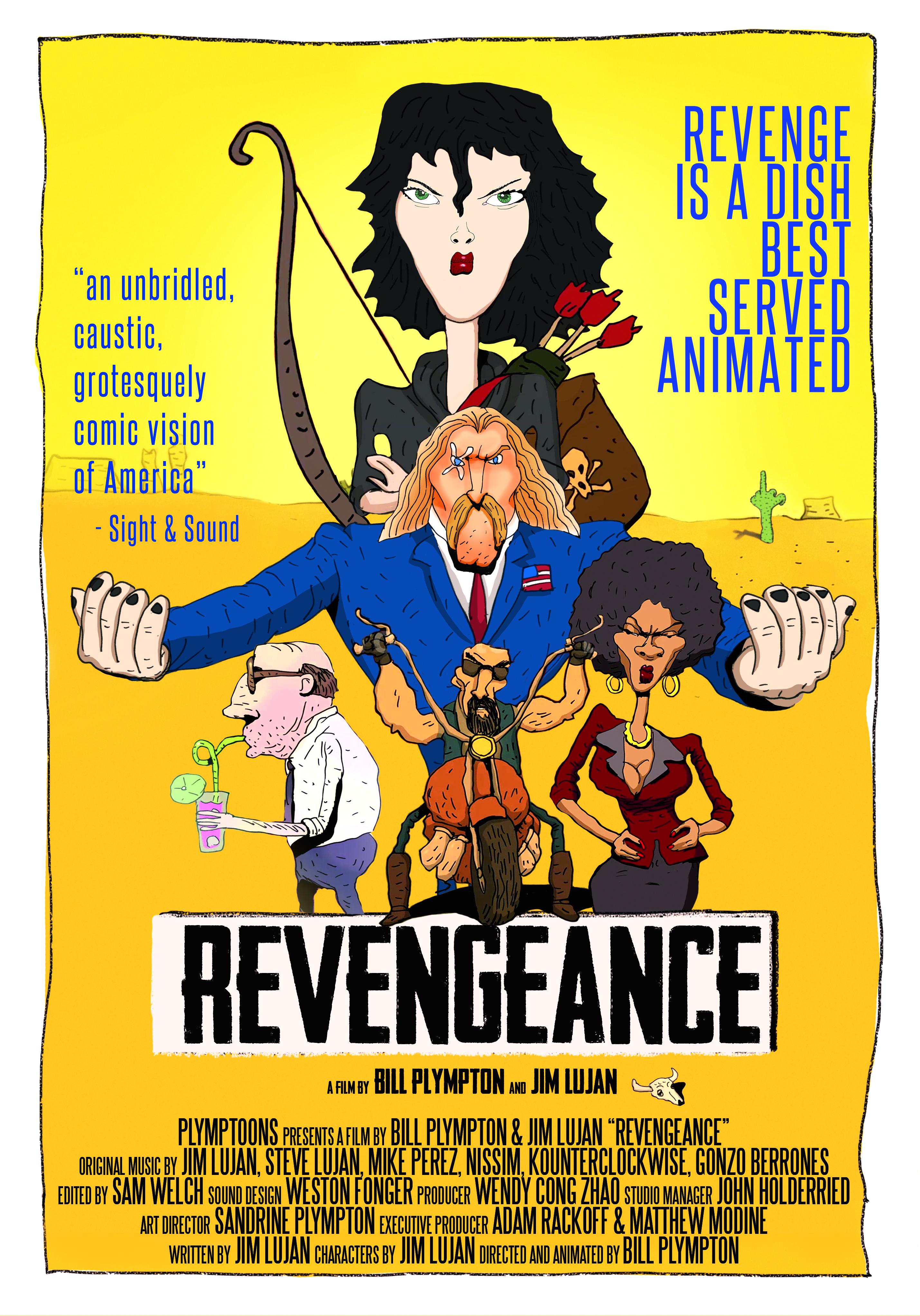 Poster for Revengeance