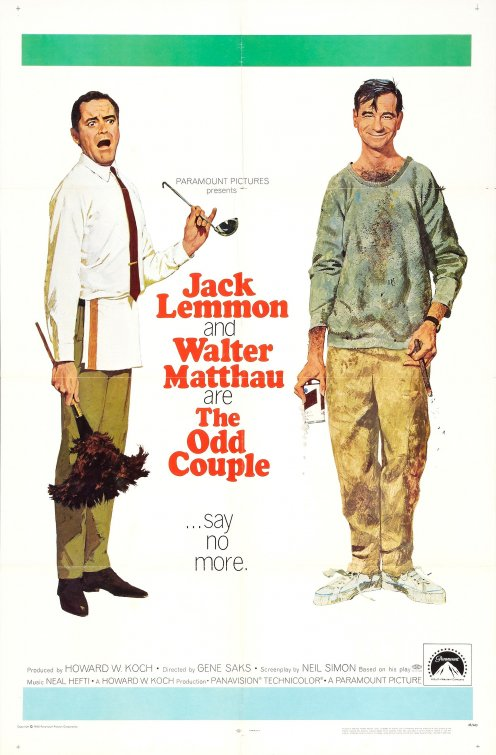 Poster for The Odd Couple
