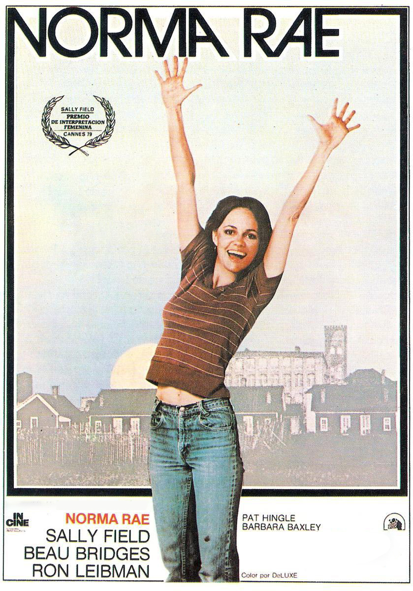 Poster for Norma Rae (International Women's Day fundraiser with THE BROAD ROOM.)