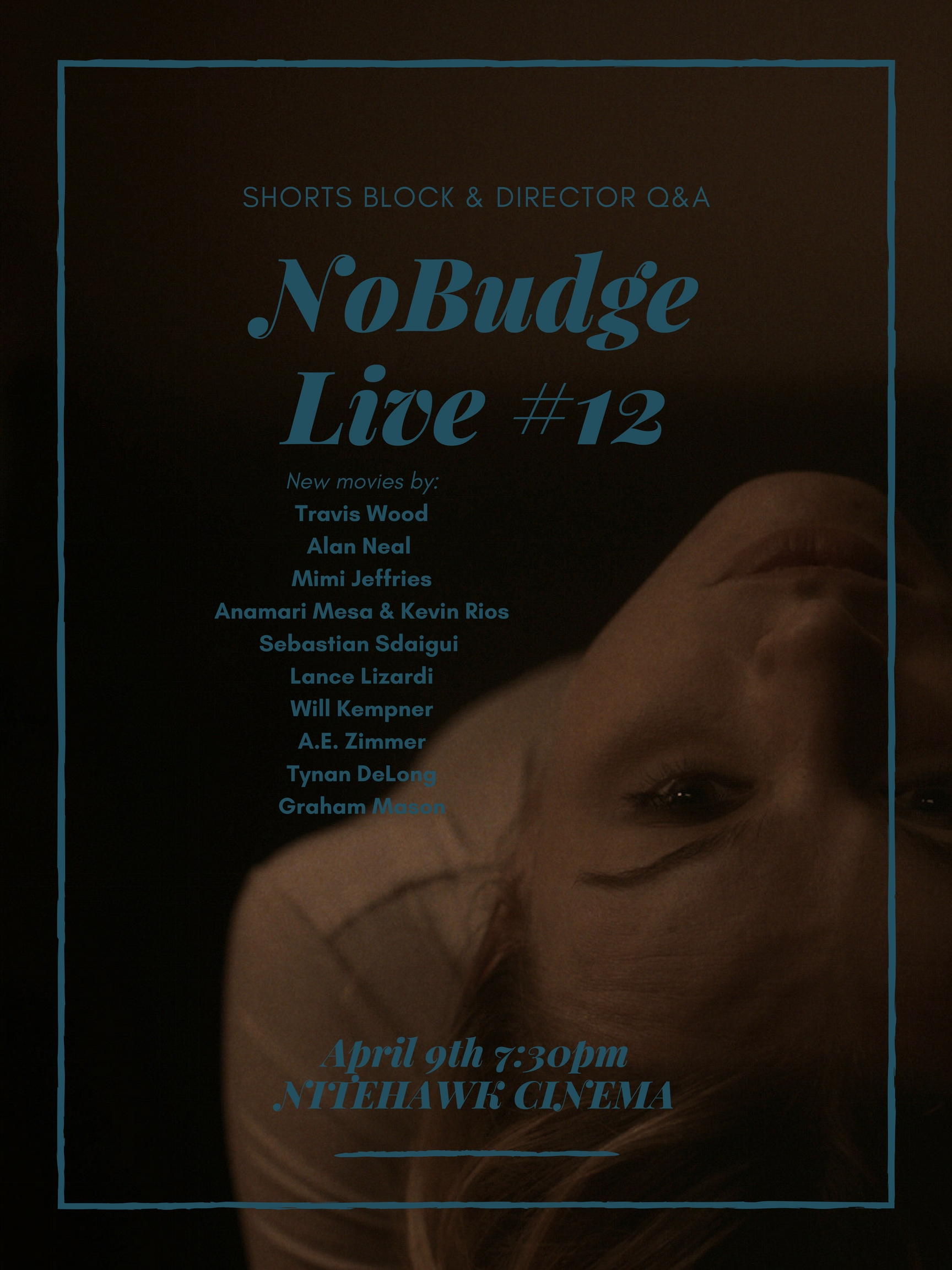 Poster for NoBudge Live #12