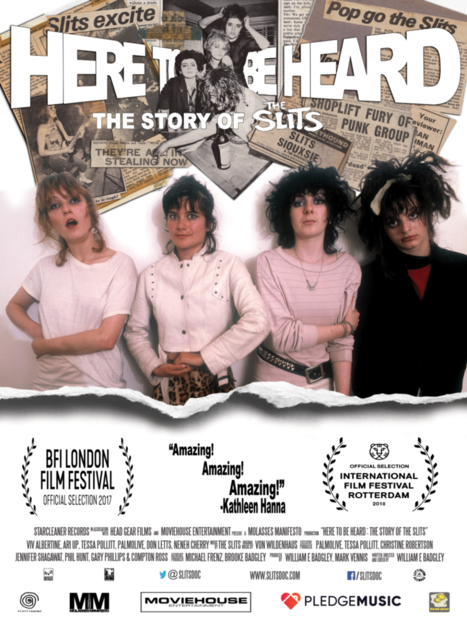 Poster for Here To Be Heard: The Story of The Slits