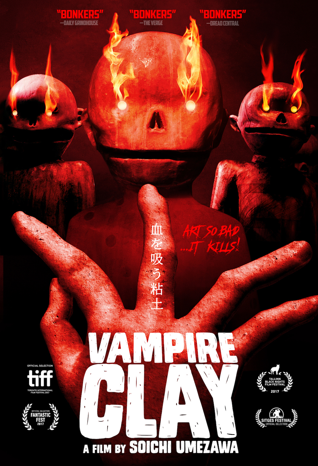 Poster for Vampire Clay