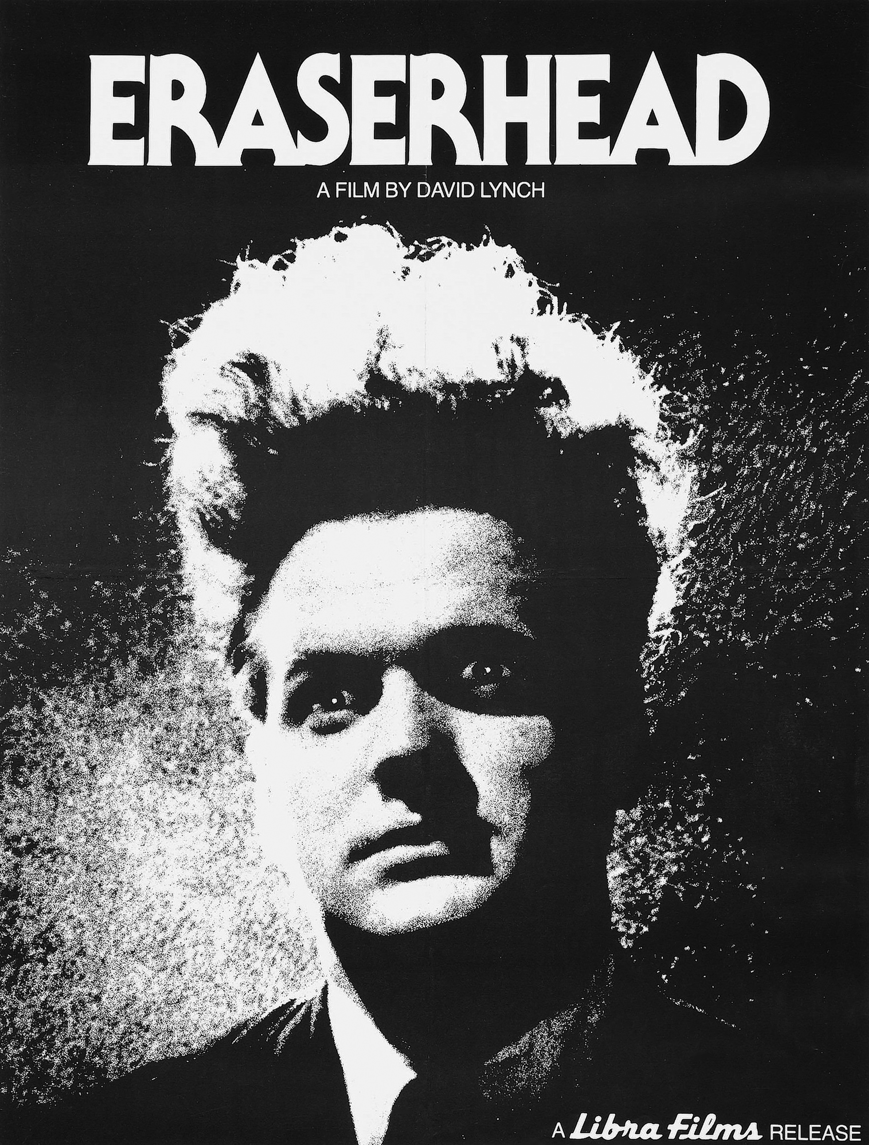 Poster for Eraserhead (Book giveaway care of Random House)