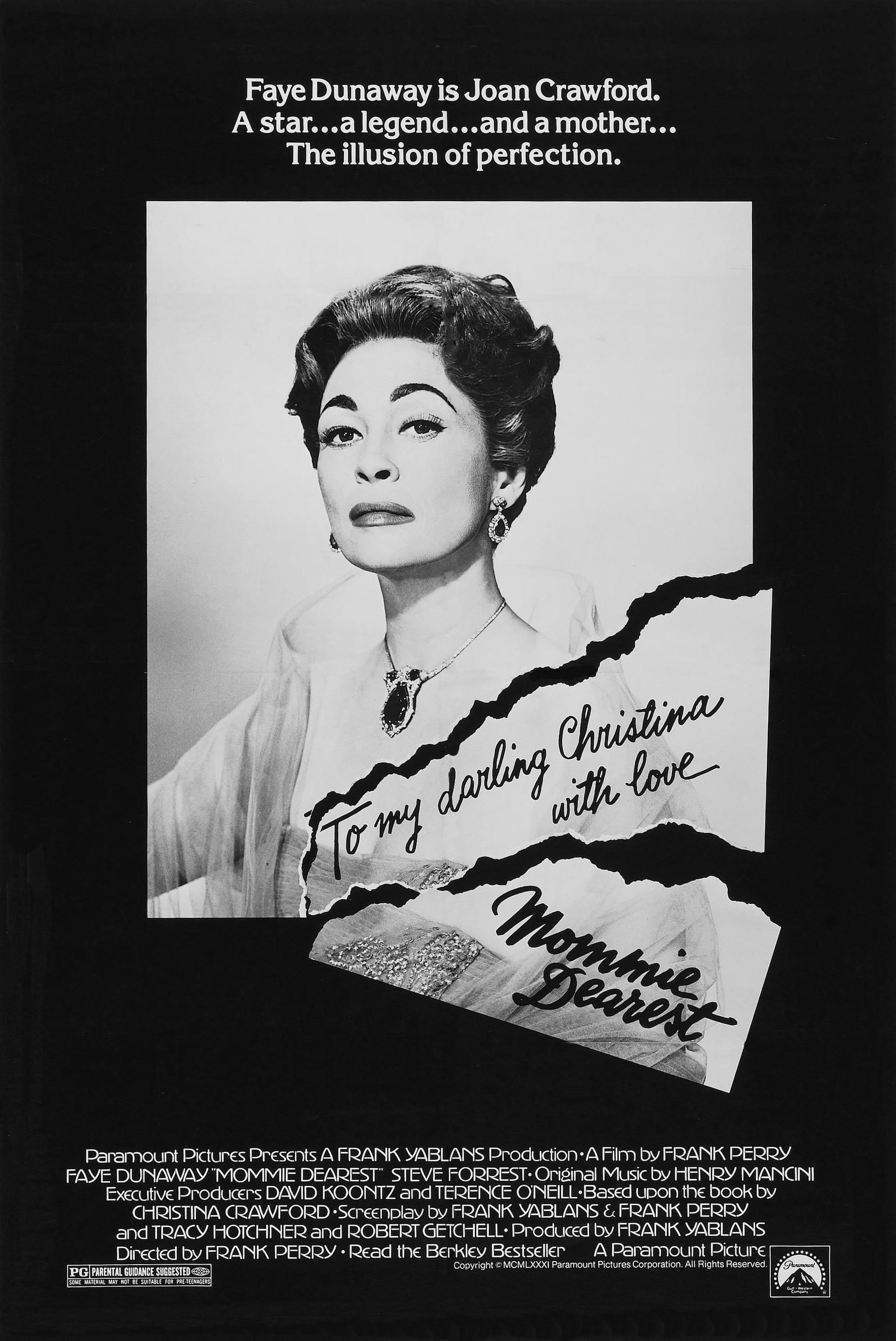 Poster for Mommie Dearest