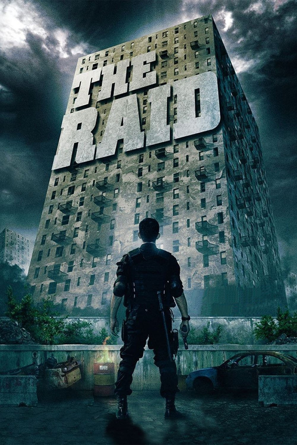 Poster for The Raid