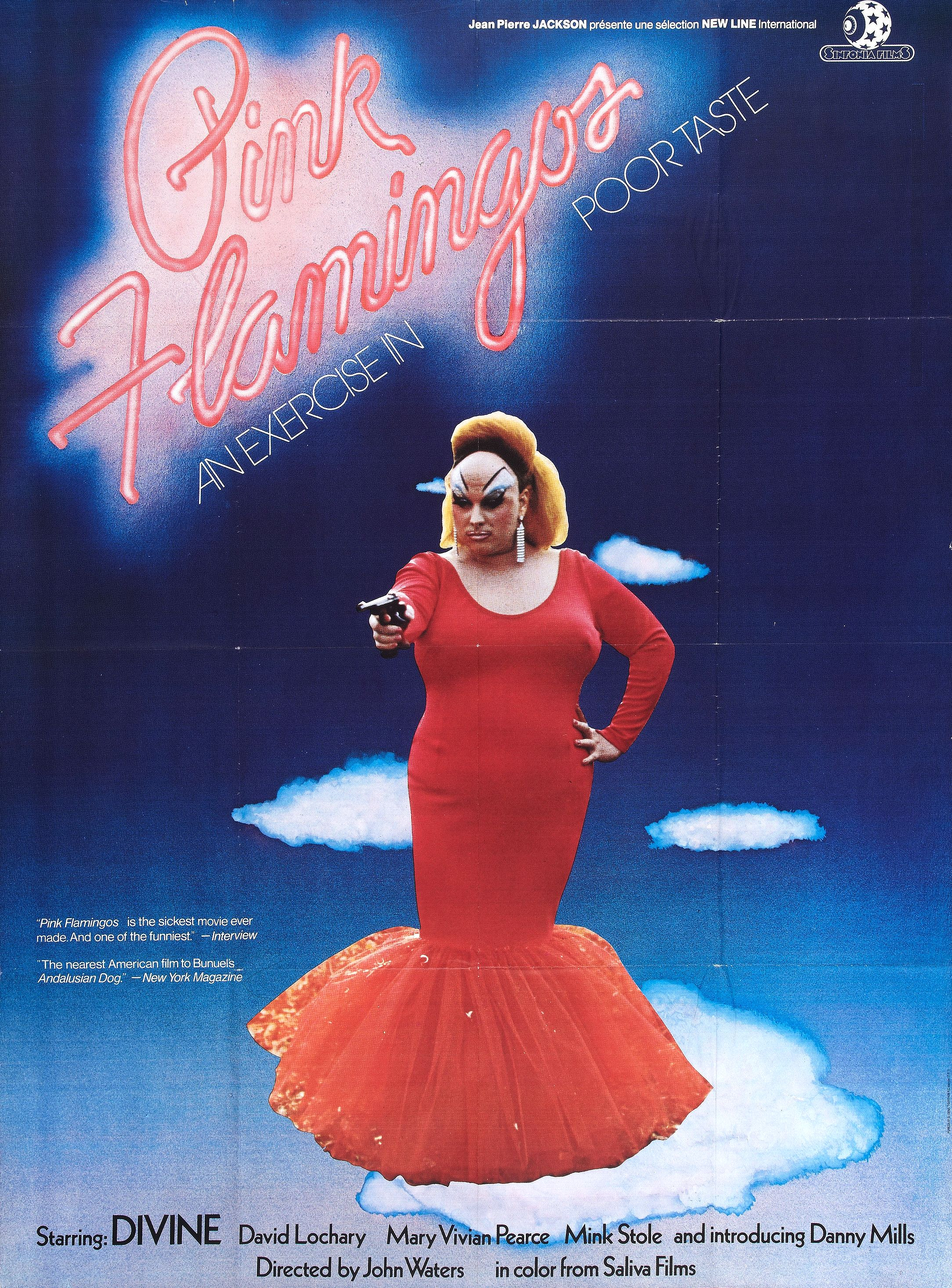 Poster for Pink Flamingos