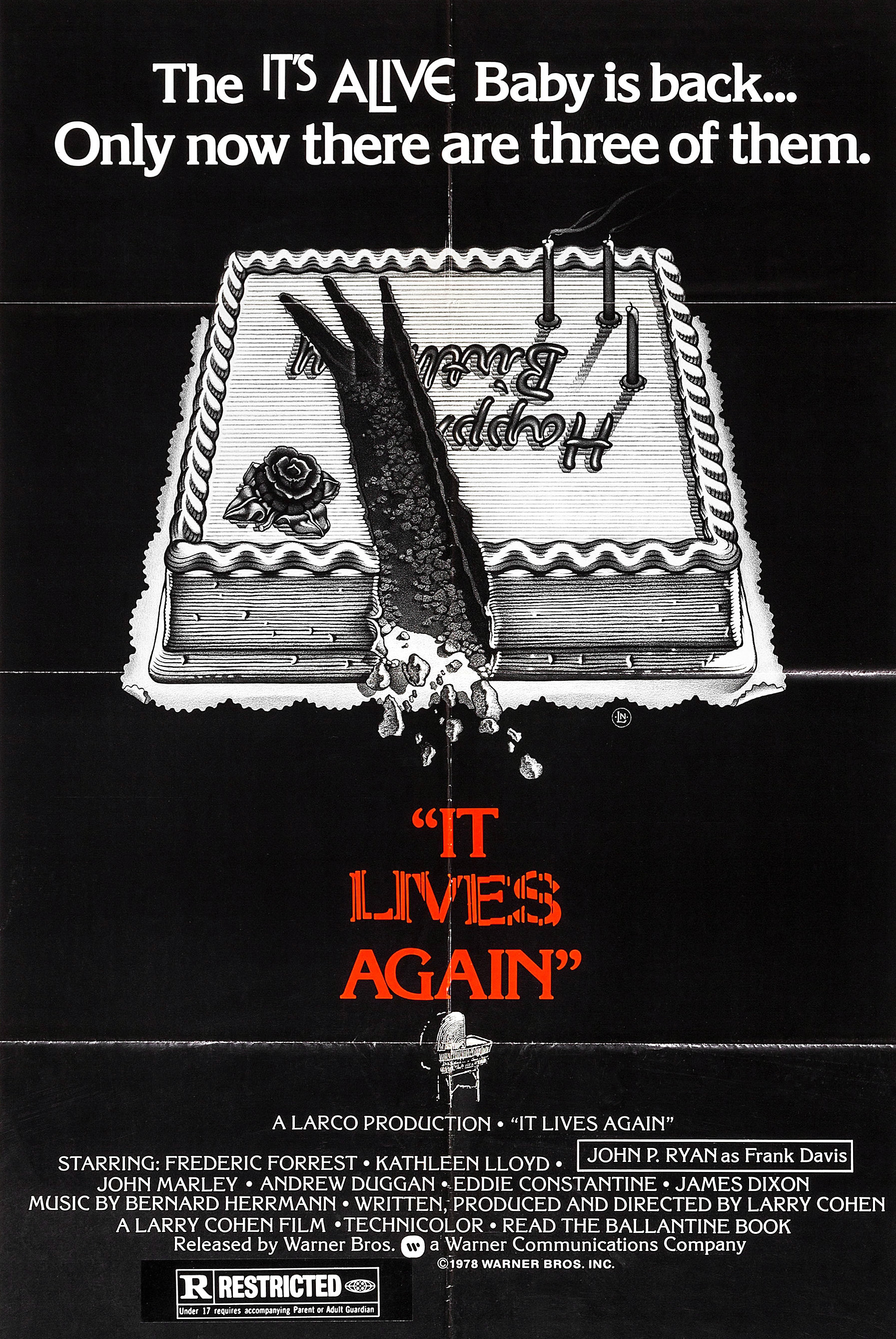 Poster for It Lives Again
