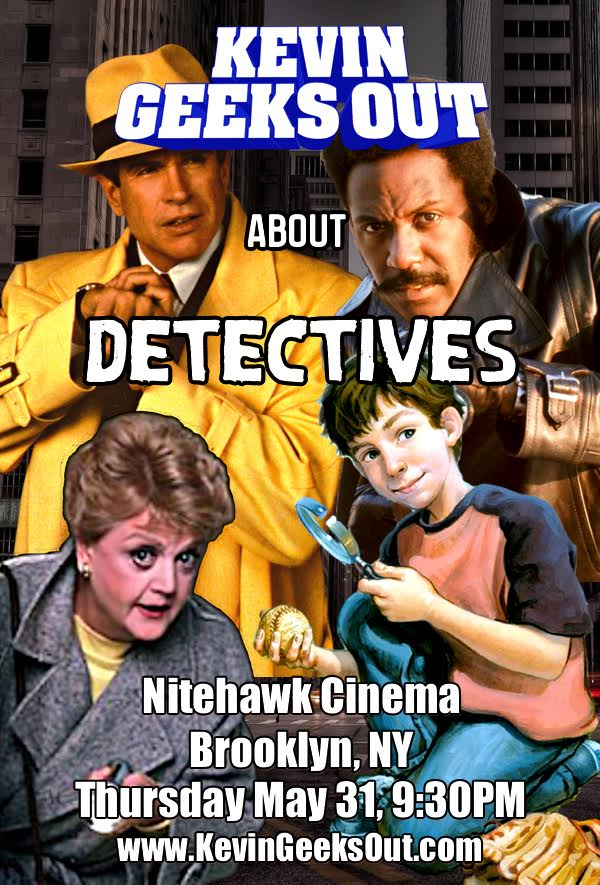 Poster for Kevin Geeks Out About Detectives