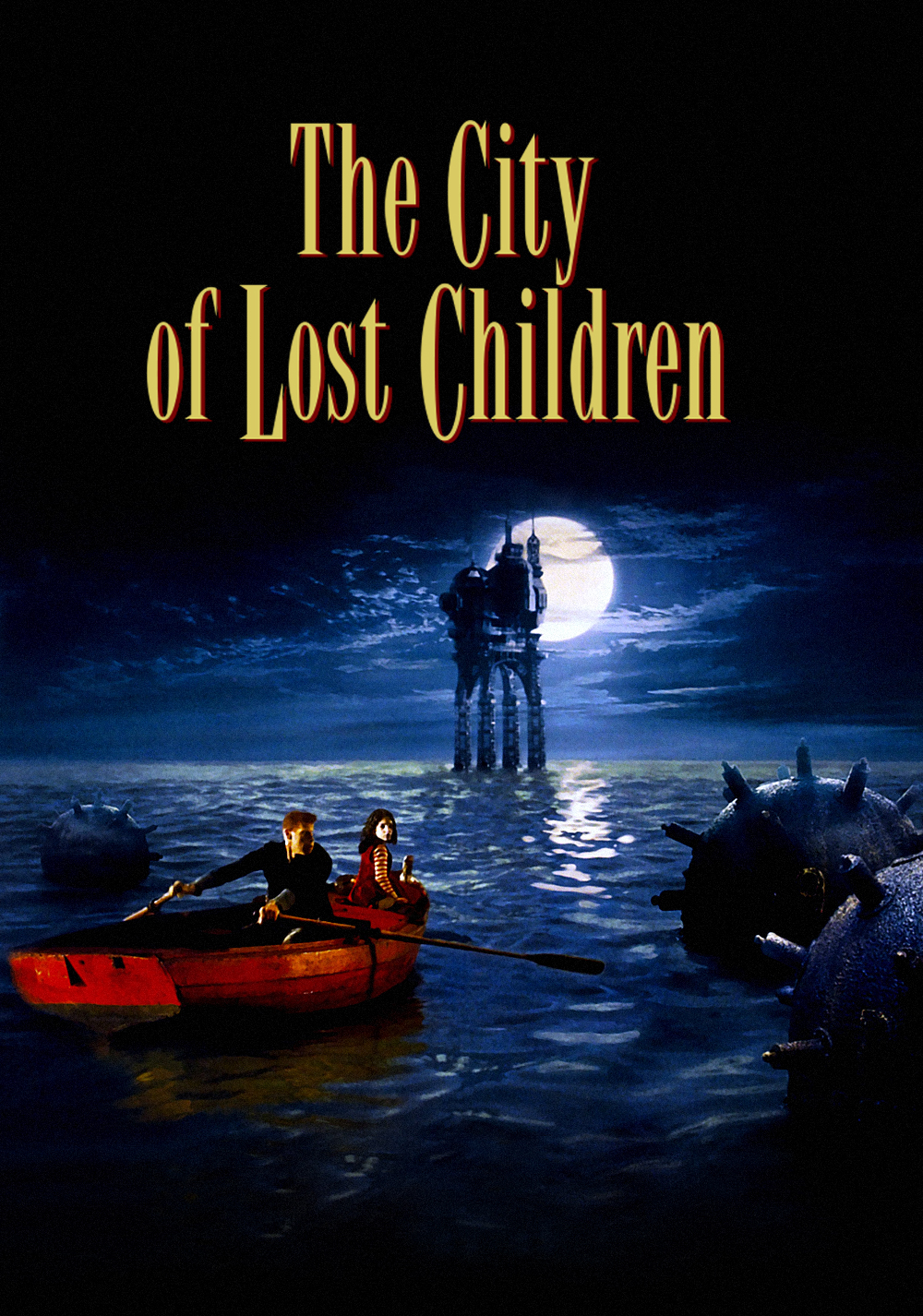 Poster for The City of Lost Children (Live score by Black Lodge)