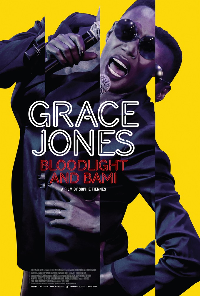 Poster for Grace Jones: Bloodlight and Bami