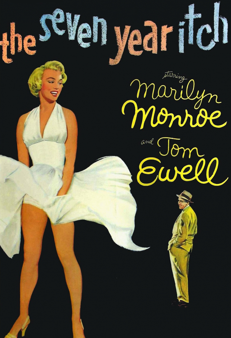 Poster for The Seven Year Itch