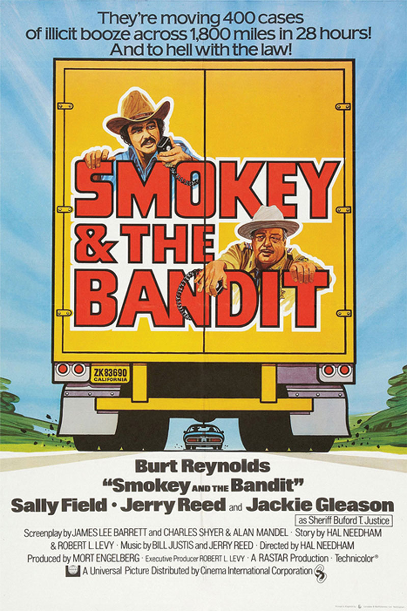 Poster for Smokey and the Bandit