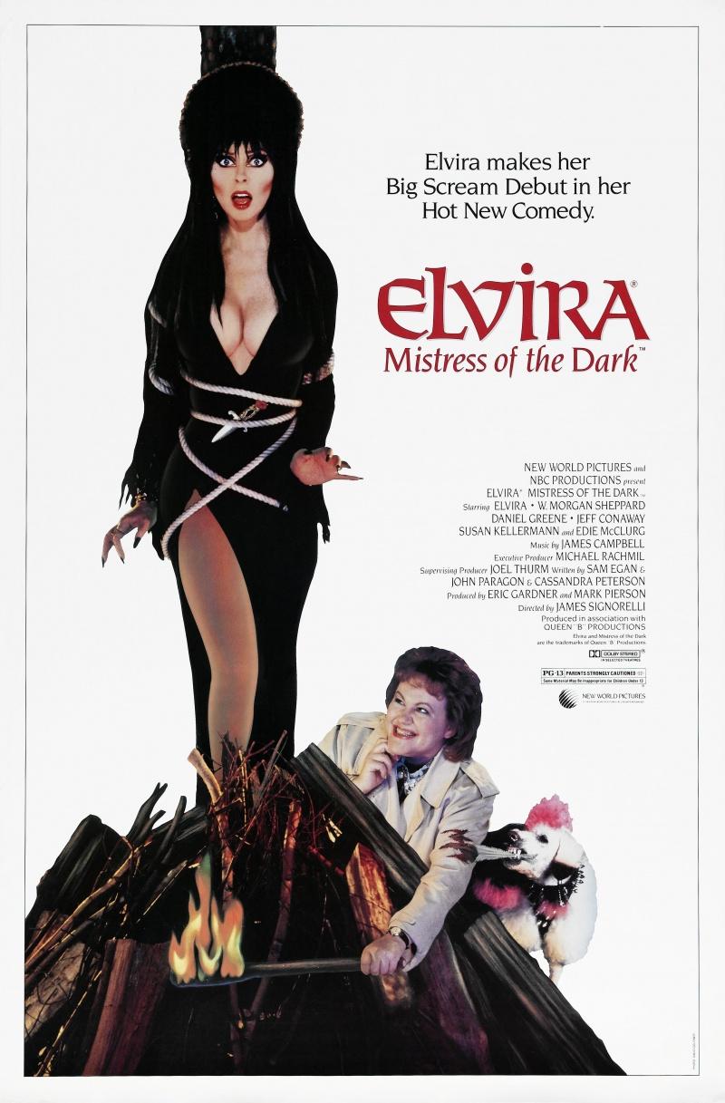 Poster for Elvira: Mistress of the Dark