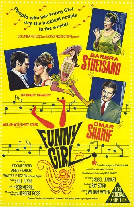 Poster for Funny Girl