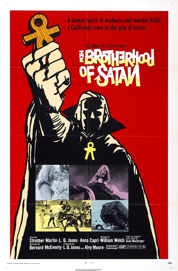 Poster for The Brotherhood of Satan