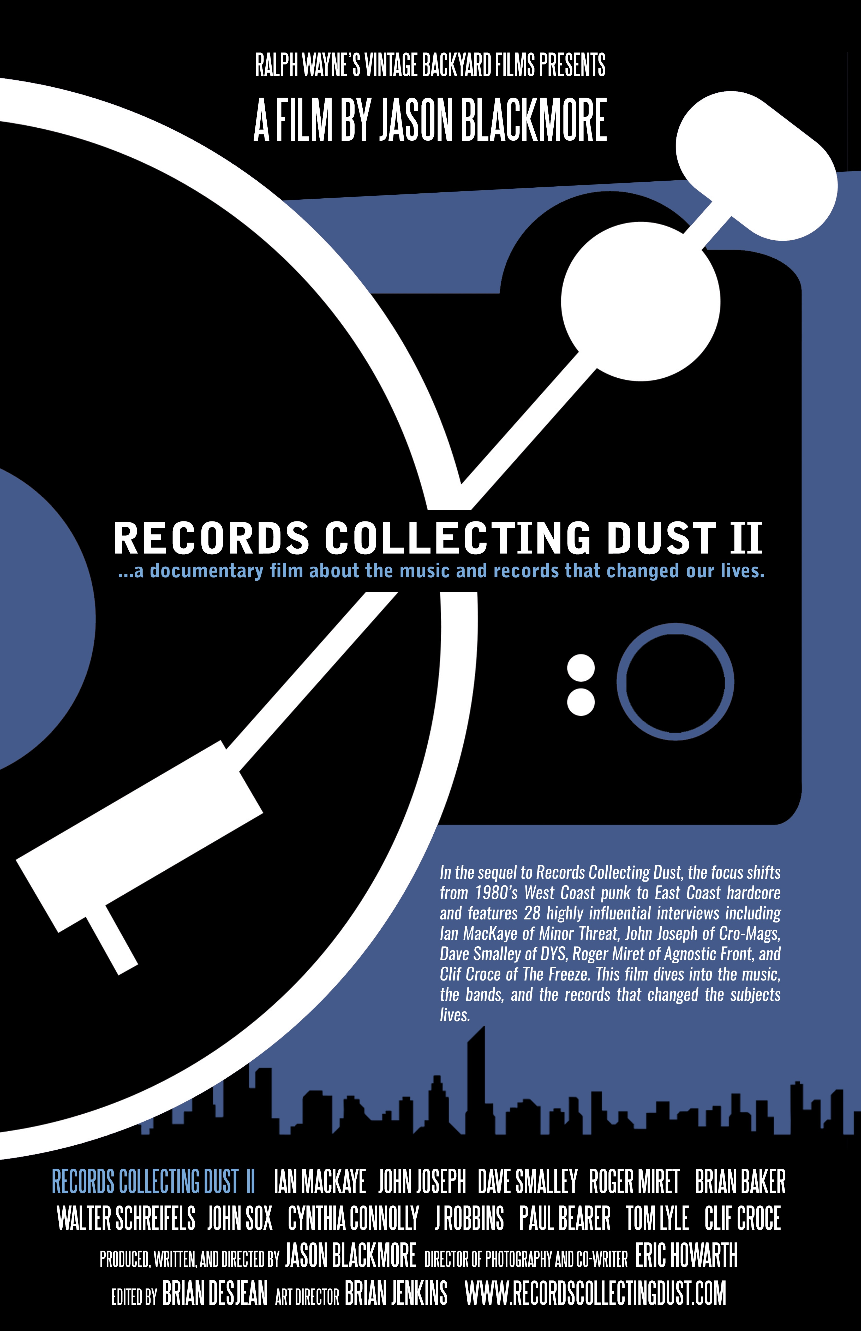 Poster for Records Collecting Dust II