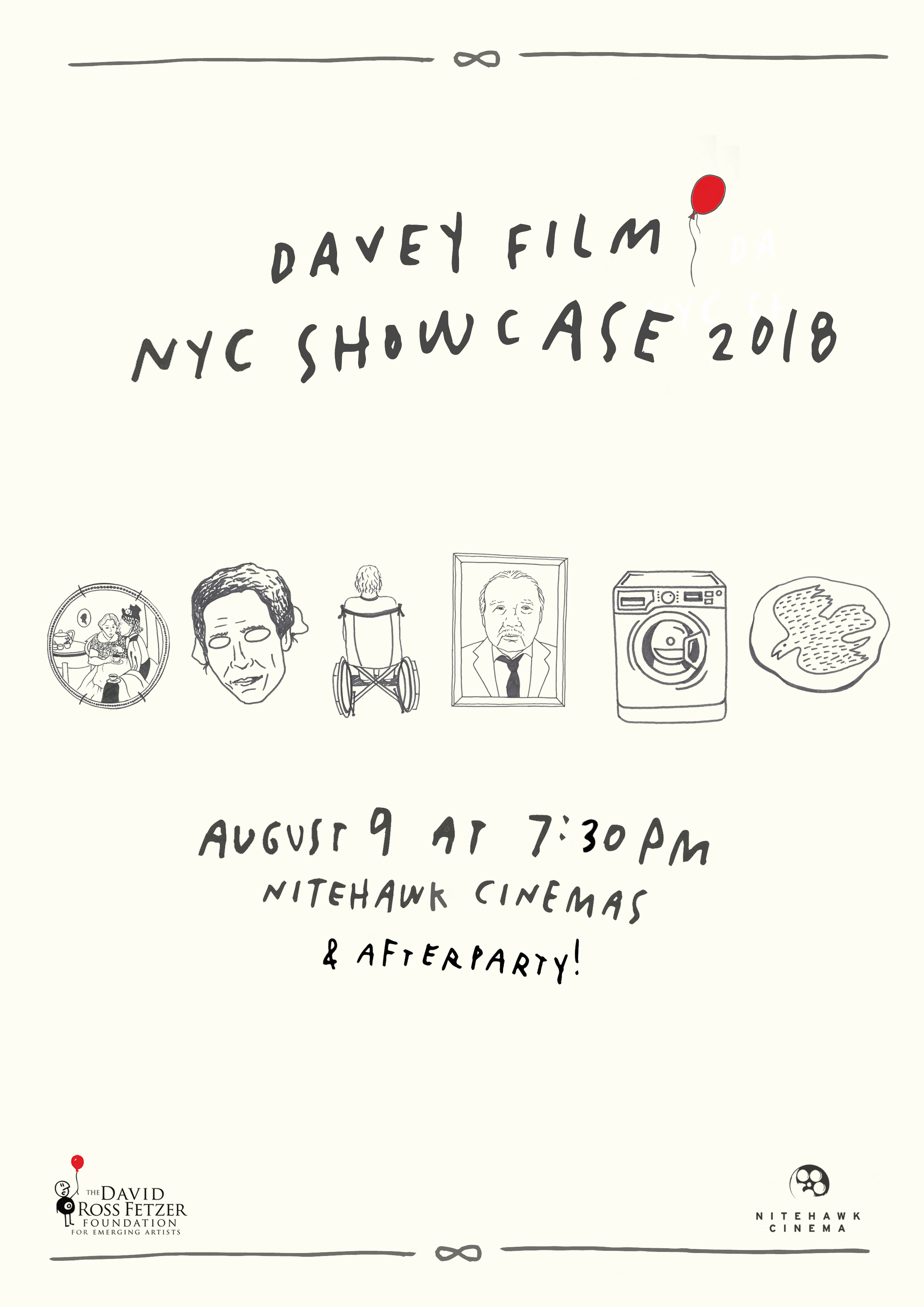 Poster for Davey Film NYC Showcase 2018
