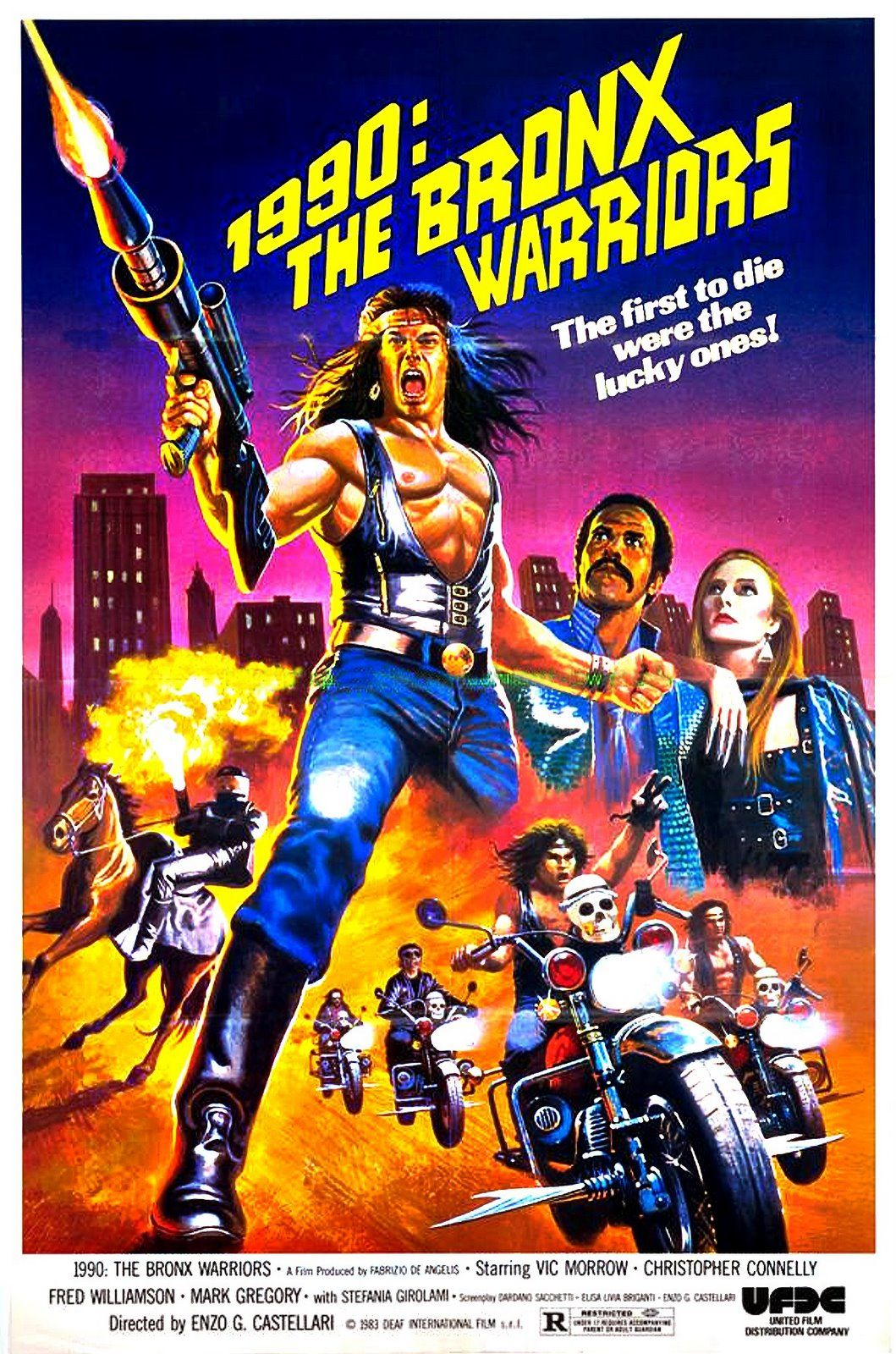 Poster for 1990: The Bronx Warriors
