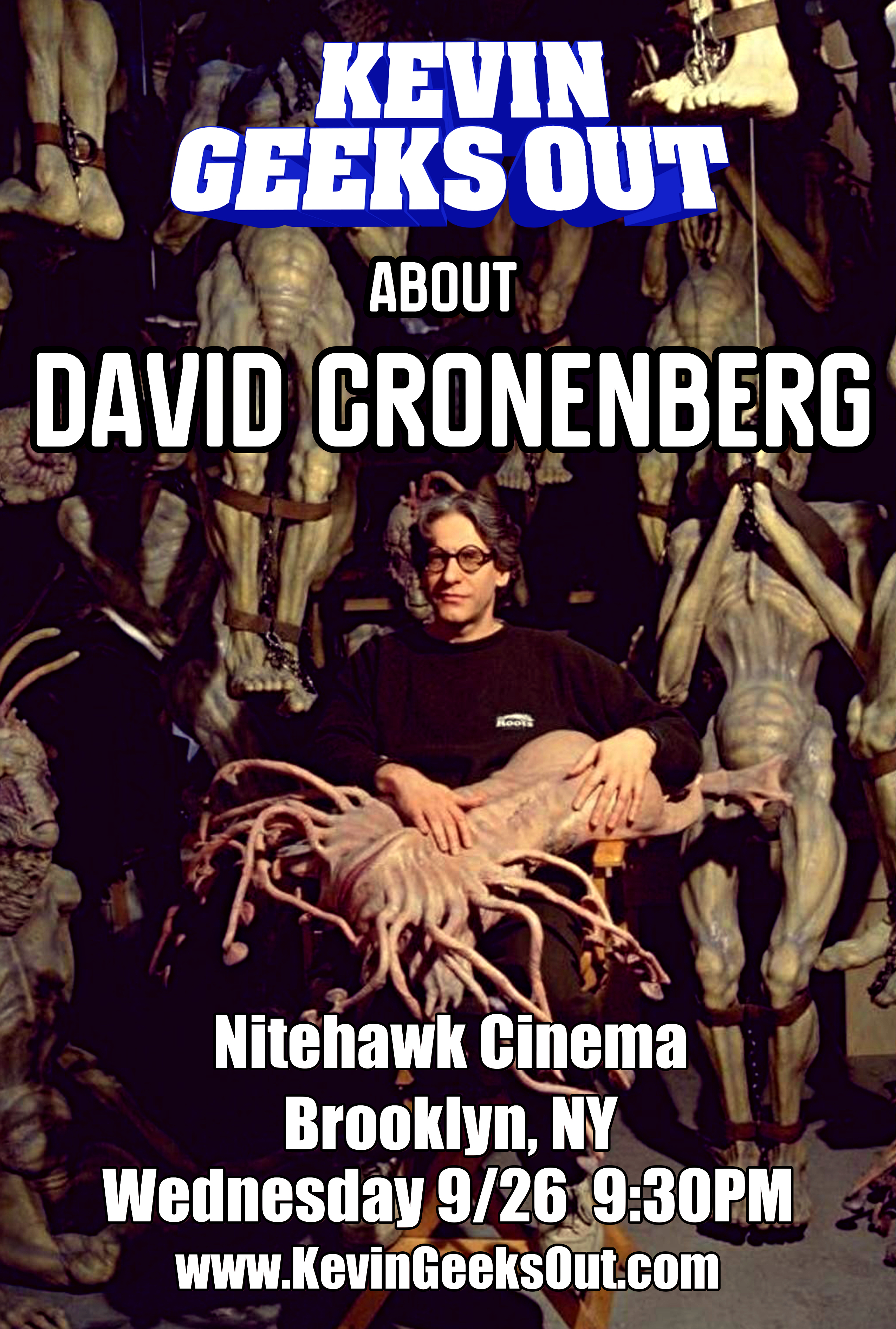 Poster for Kevin Geeks Out About David Cronenberg