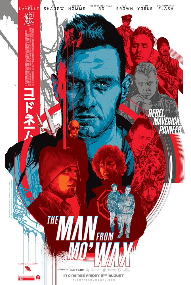 Poster for The Man from Mo'Wax
