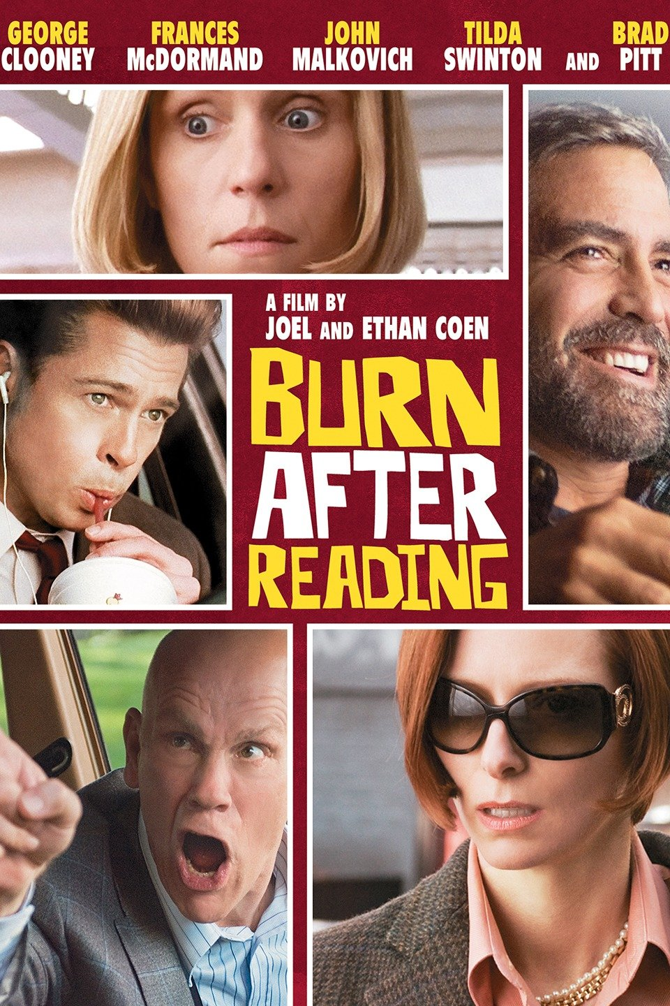 Poster for Burn After Reading