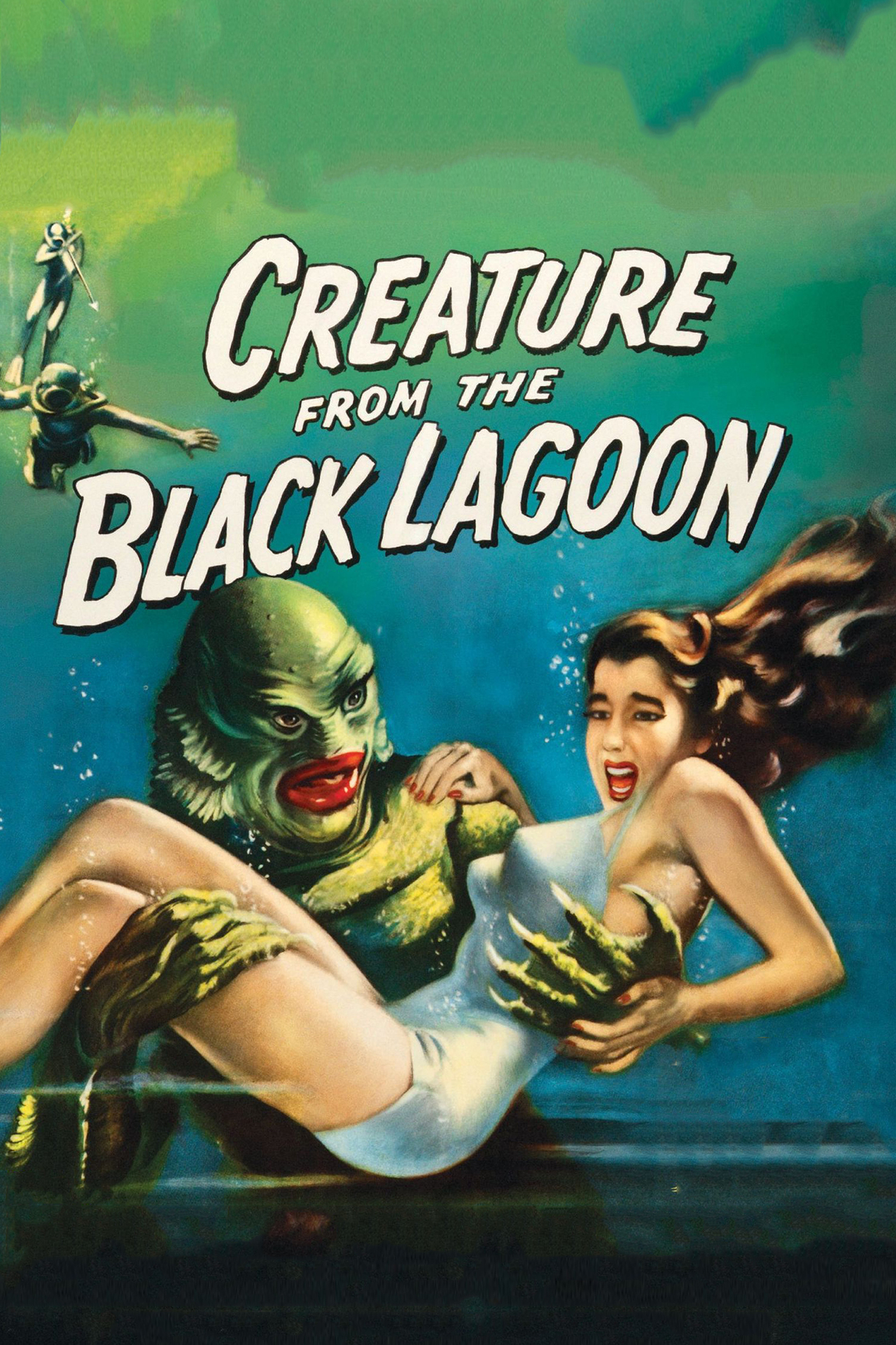 Poster for Creature from the Black Lagoon