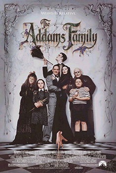 Poster for The Addams Family