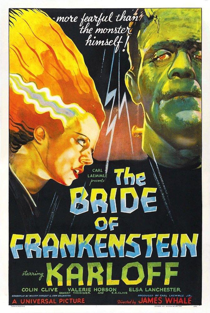 Poster for Bride of Frankenstein