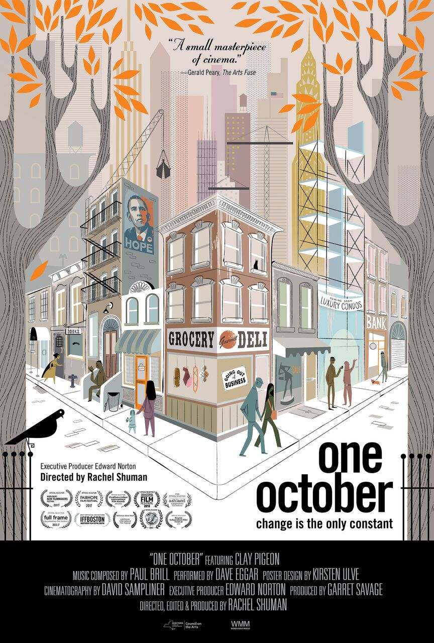Poster for One October
