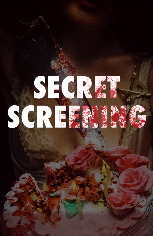 Poster for Brooklyn Horror Film Festival Secret Screening