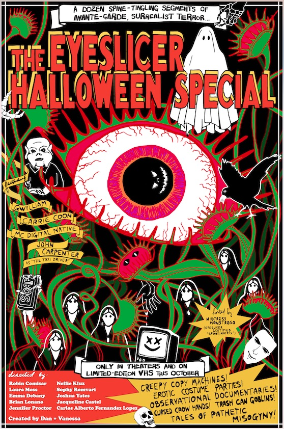 Poster for The Eyeslicer Halloween Special