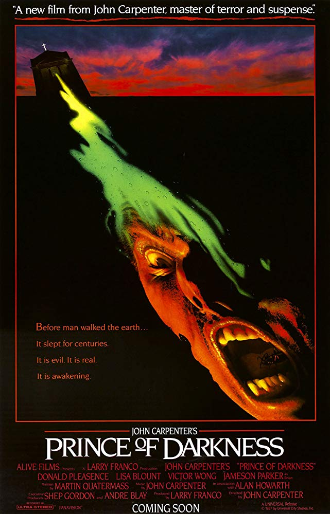 Poster for Prince of Darkness