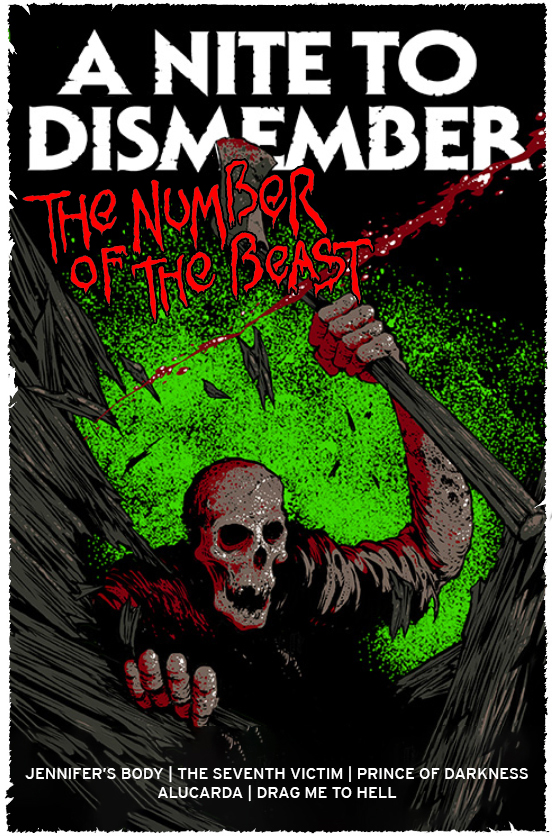 Poster for A NITE TO DISMEMBER: THE NUMBER OF THE BEAST
