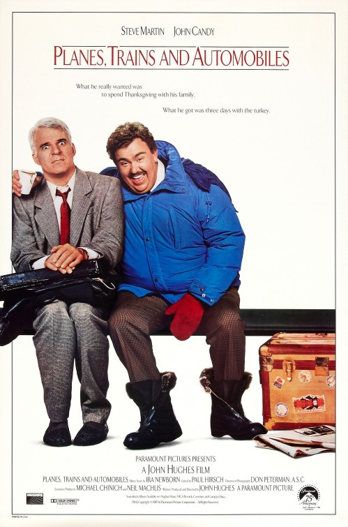 Poster for Planes, Trains & Automobiles