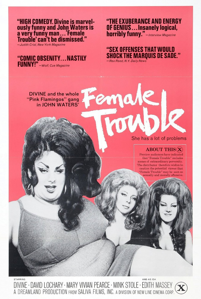 Poster for Female Trouble