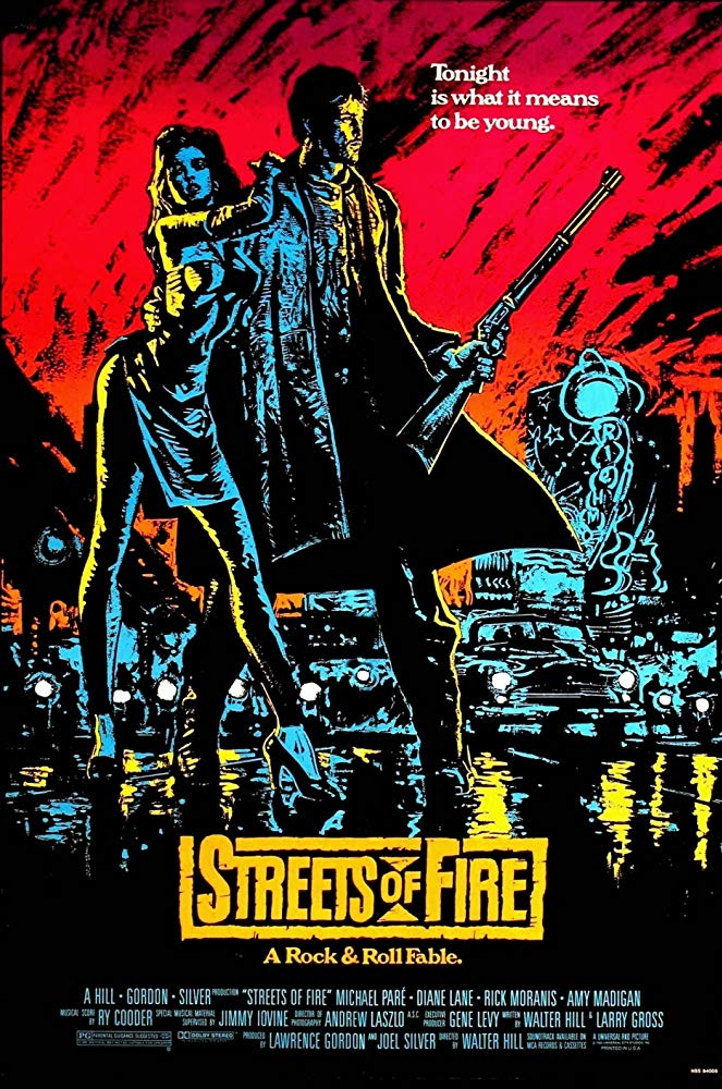 Poster for Streets of Fire