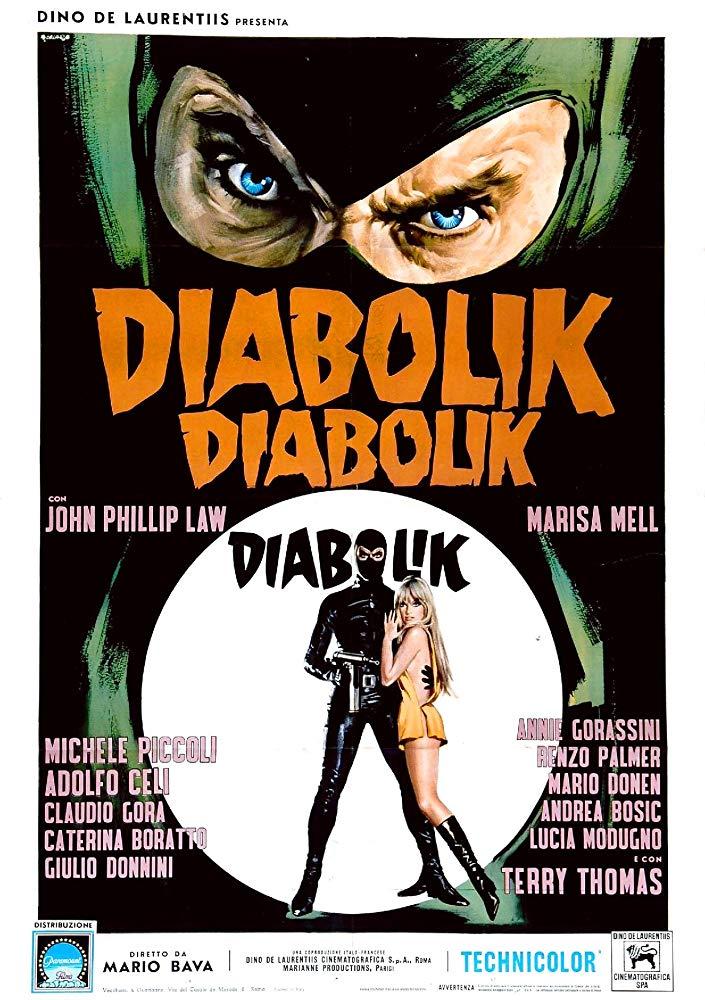Poster for Danger: Diabolik