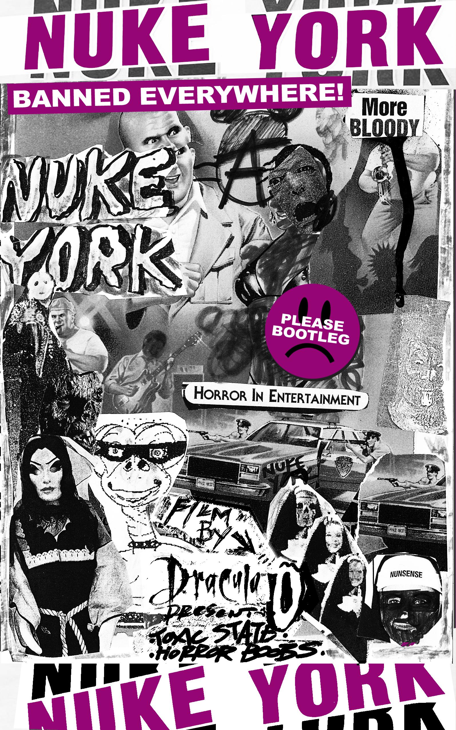 Poster for Nuke York Volume One: Eat the Rich on LSD