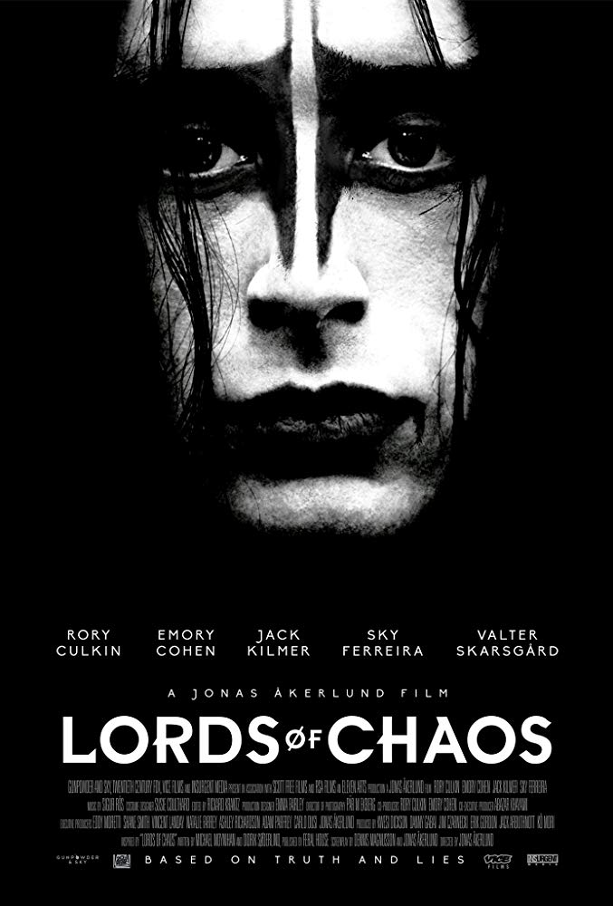 Poster for Lords of Chaos