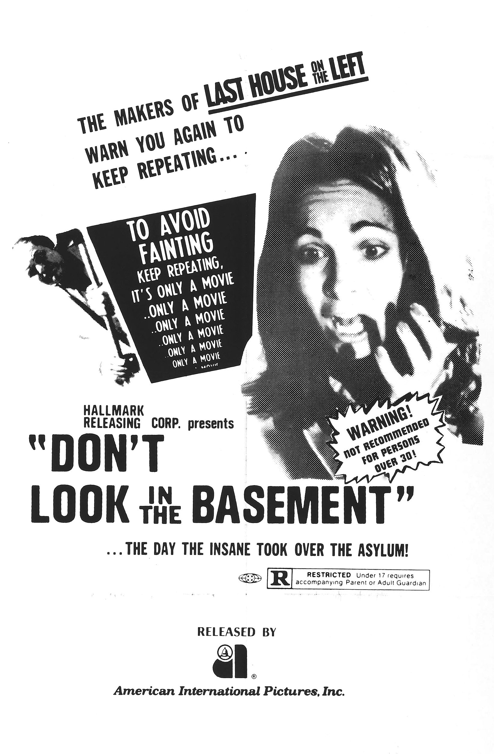 Poster for Don't Look in the Basement
