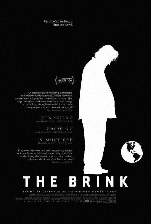 Poster for The Brink (Q&A with director Alison Klayman & producer Marie Therese Guirgis)