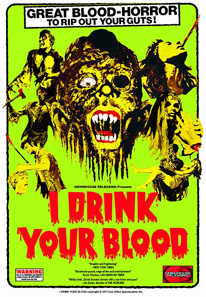 Poster for I Drink Your Blood
