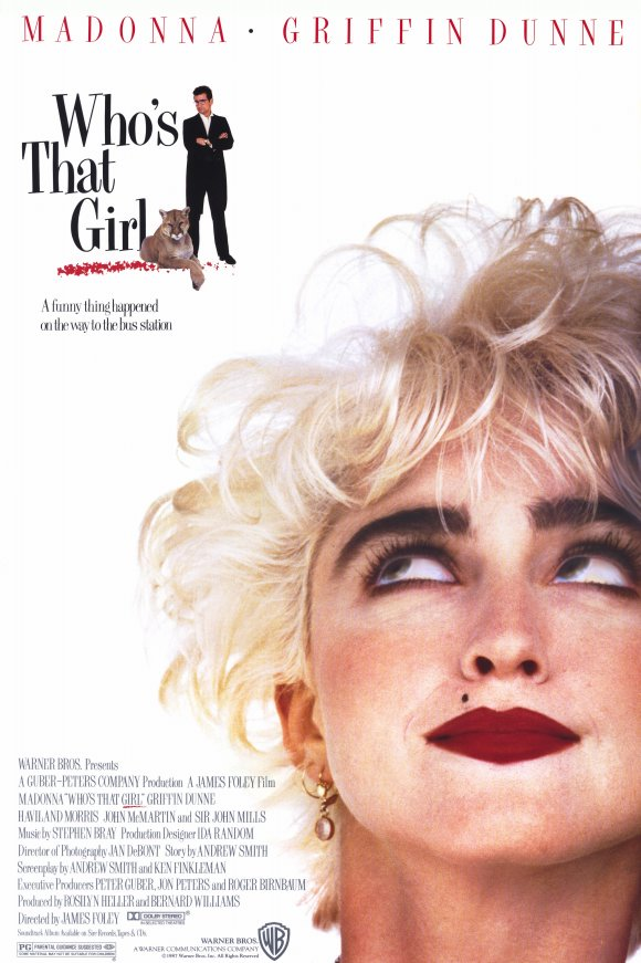 Poster for Who's That Girl