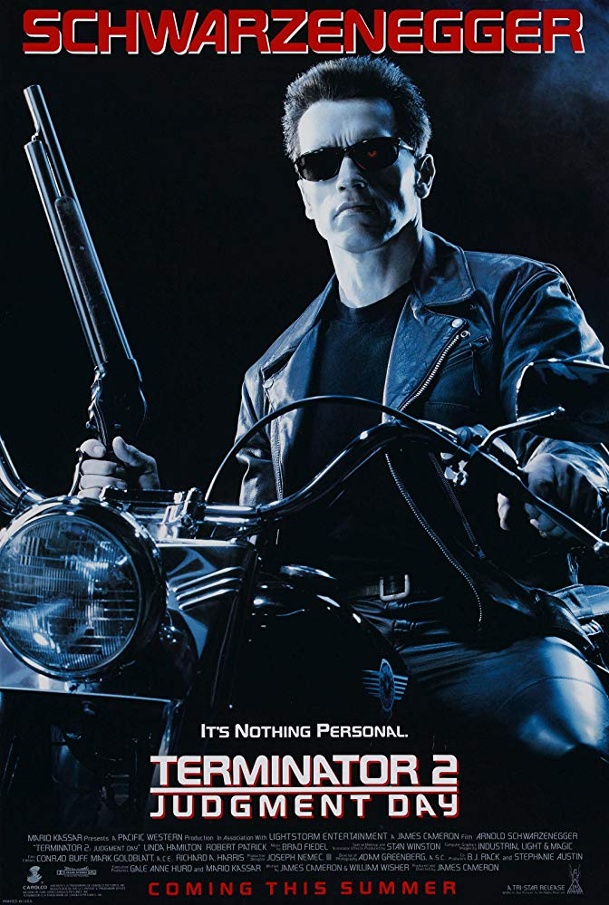Poster for Terminator 2