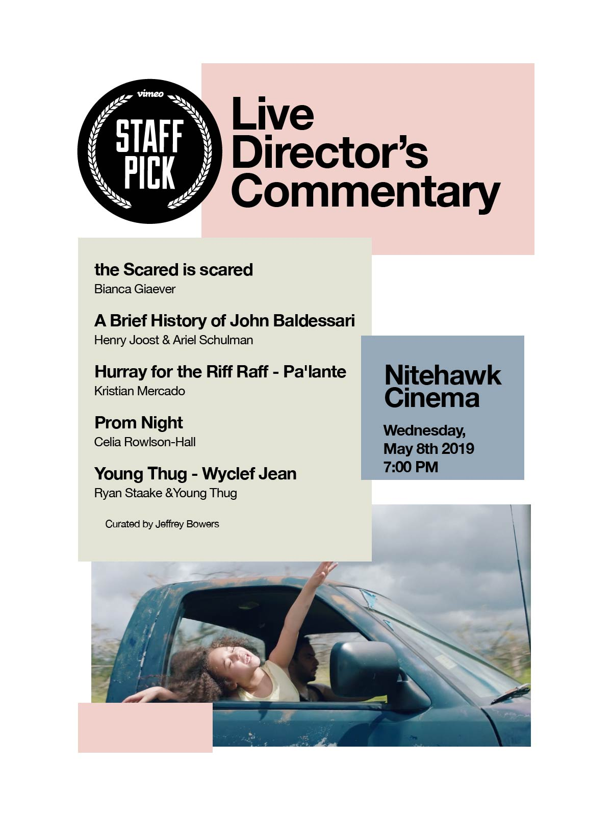 Poster for Vimeo Staff Picks with Live Director's Commentary #3