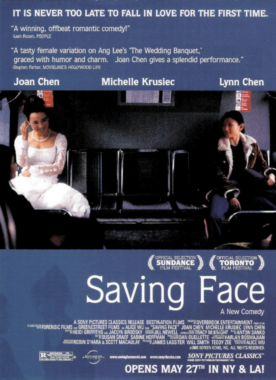 Poster for Saving Face