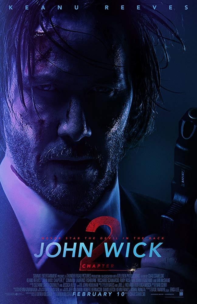 Poster for John Wick: Chapter 2
