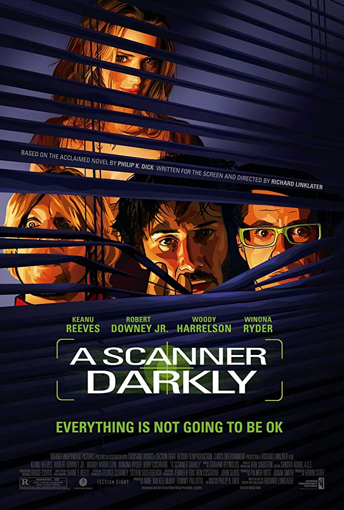 Poster for A Scanner Darkly